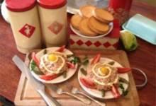 dutch potato salad (huzaren salade)