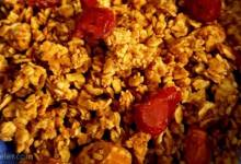 easy cranberry granola