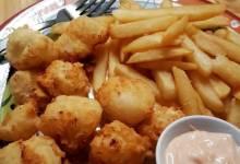 easy fried scallops