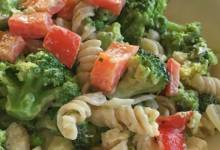 easy gluten-free vegetarian pasta with boursin®