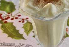 Easy Holiday Eggnog Shake