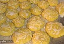 Easy Lemon Cake Cookies with cing