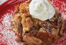 easy pecan pie bread pudding