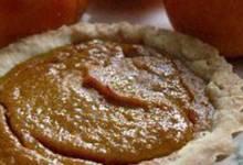 easy persimmon pie