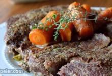 Easy Pressure Cooker Pot Roast