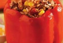Easy Santa Fe Style Stuffed Peppers