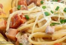 Easy Smoked Salmon Pasta