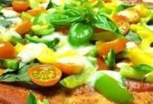 Easy Tomato-Basil Pizza
