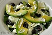 Egg White and Avocado Salad