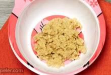 Eggy Pear and Oatmeal Scramble