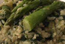 emerald green risotto