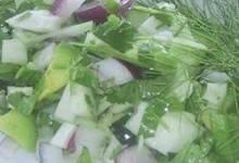 Fennel Cucumber Salsa