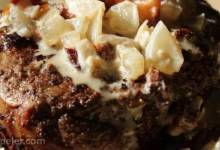 Filet Mignon with Bacon Cream Sauce