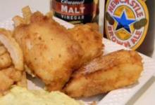 fish batter with newcastle™ brown ale