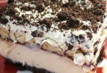 five layer ce cream bars