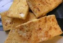 French Toast Pan-Fried Tofu (Gluten Free)