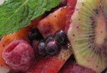 Fresh Fruit with Poppy Seed Dressing