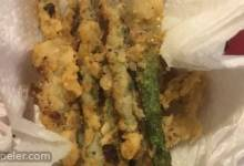 Fried Asparagus Sticks