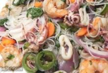 Fried Seafood Laksa Noodles