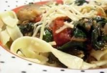fried tomato, onion, and mushroom ragout