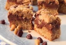 fudge jumbles (chocolate cookie bars)