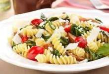 Fusilli with Grape Tomatoes and Sausage