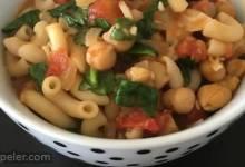 Garbanzo Tomato Pasta Soup