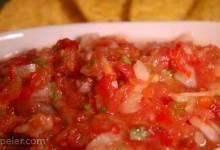 Garden Tomato Salsa