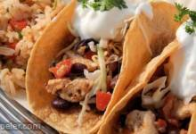 Garlic Chicken Tacos