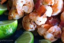 Garlic Lime Bacon-Wrapped Shrimp