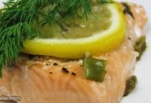 garlic salmon