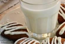 Ginger Cookies with Orange Glaze