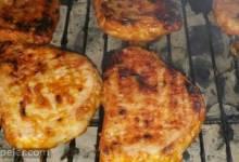 Glazed Grilled Pork Chops