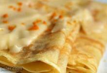 Gluten-Free Butter Crepes with Orange Blossom Honey Butter