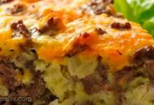 Gluten-Free mpossibly Easy Cheeseburger Pie