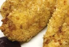 golden air-fried chicken tenders
