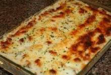 golden lasagna
