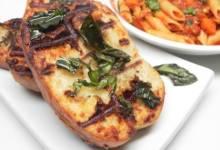 great grilled garlic bread