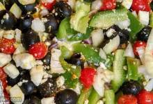 greeked zucchini