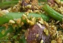 Green Bean Casserole with Pumpkin Seed Crumble (Eat Clean for Thanksgiving)