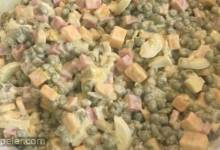 Green Pea and Ham Salad