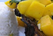 Grilled Chicken with Fresh Mango Salsa