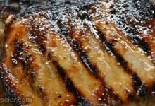 Grilled Jamaican Jerked Pork Loin Chops