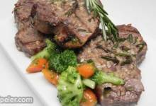 Grilled Leg of Lamb Steaks