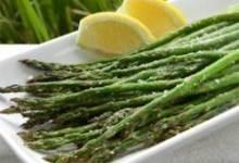 Grilled Lemon Parmesan Asparagus