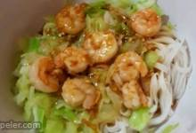 Grilled Shrimp Rice Noodle Bowl