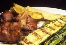 Grilled talian Zucchini