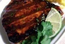 Grilled Tropical Tuna Steaks