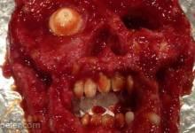 Halloween Zombie Meatloaf