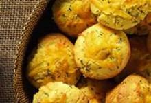 Ham and Cheddar Corn Muffins